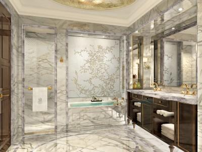HBA-哈尔滨丽思卡尔顿酒店样板间施工图下载