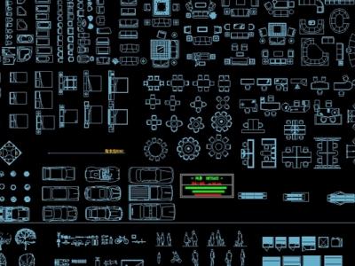 CAD图库施工图下载