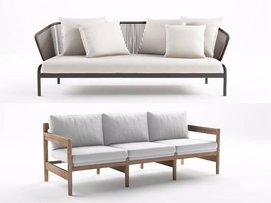 意大利PODA现代多人沙发3d模型下载【ID:95870371】
