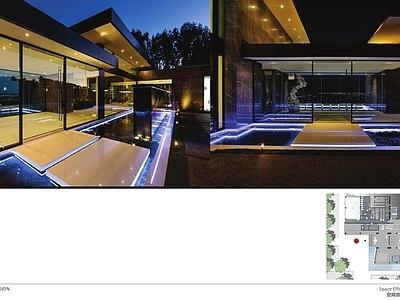 集艾G&A--万科御河硅谷售楼处室内汇报方案施工图下载