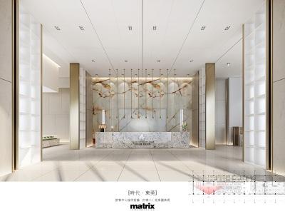 MATRIX矩阵-东莞石排时代销售中心项目施工图+效果物料施工图下载