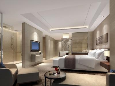 CCD--华泛大酒店全套  效果图及物料表+CAD平面图(CAD施工图纸)施工图下载