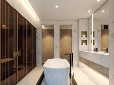 SLD梁志天-吉隆坡KLCC凯宾斯基品牌 YOO8高级公寓施工图下载