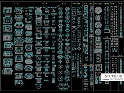 非常全的CAD平面图和立面图施工图下载
