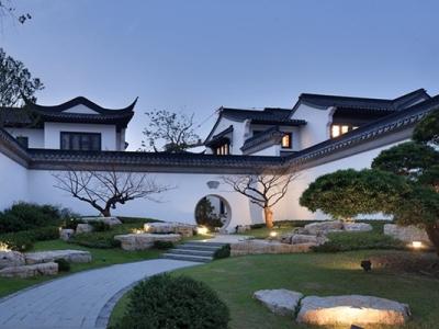 【新中式建筑】苏州绿城桃花源建筑效果图+CAD全套施工图+实景图丨34.6M施工图下载