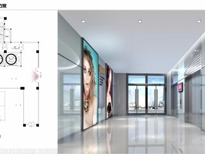 [商业空间]郑州某现代城商业广场施工图下载