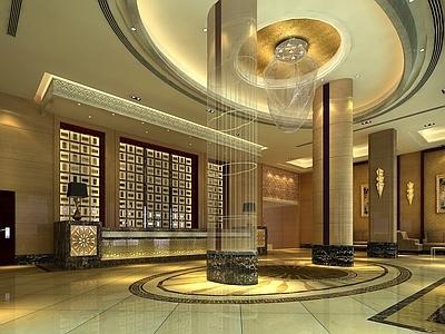 某酒店整套施工图+效果图+材料表+家具表+厨柜施工图施工图下载
