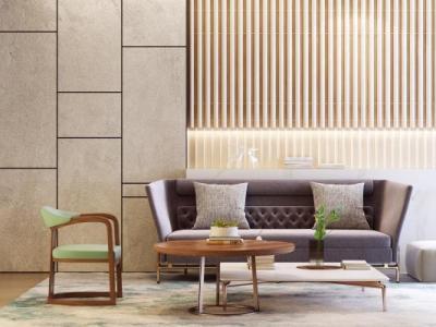 新中式组合沙发3d模型下载【ID:126283004】