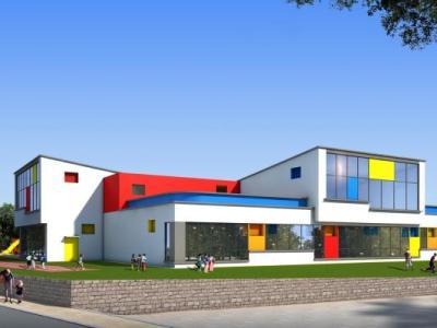曾家坡三层幼儿园(CAD+效果图)施工图下载