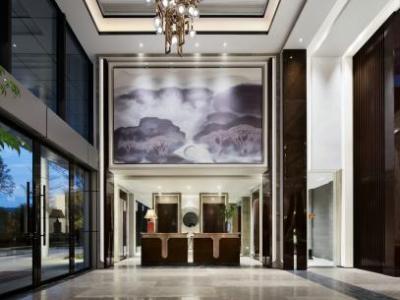 帝凯设计--福州金辉珑园销售中心处(全)施工图+实景图施工图下载