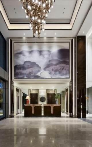 帝凯设计--福州金辉珑园销售中心处(全)施工图+实景图施工图下载【ID:530426453】