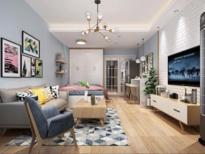 北欧客厅 单身公寓