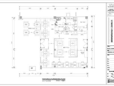 中式火锅店施工图全套施工图下载