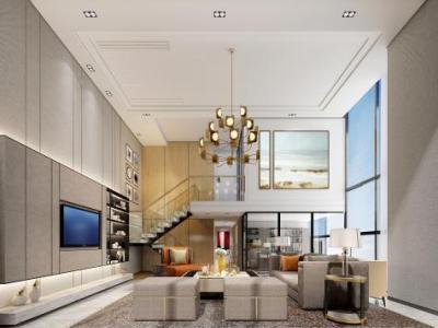 【公寓】精装修公寓样板房6套丨设计方案 效果图 施工图施工图下载