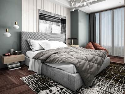现代卧室3D模型【ID:133129366】