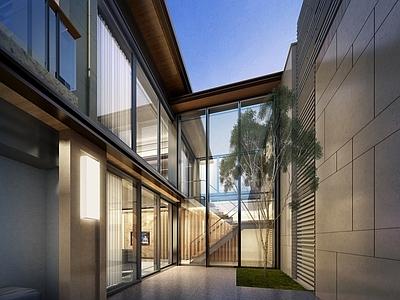 梁志天-三亚凯华海棠湾海棠之星B型别墅 室内外深化设计方案+效果图施工图下载