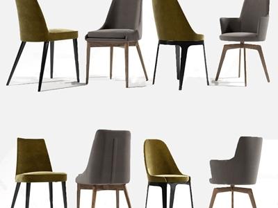 现代单椅3D模型【ID:333127026】