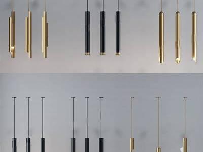 现代吊灯组合3D模型【ID:56329085】