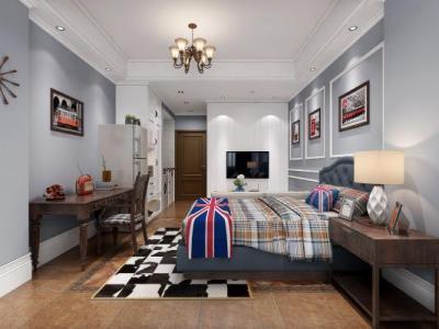 美式英美风格公寓