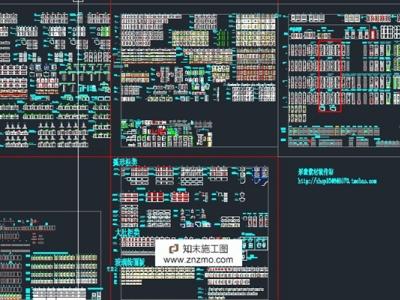 专业橱柜标准图块施工图下载