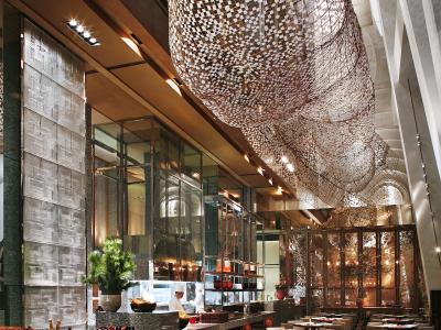 C339【季裕棠】上海环球金融中心柏悦酒店丨方案+施工图+摄影施工图下载