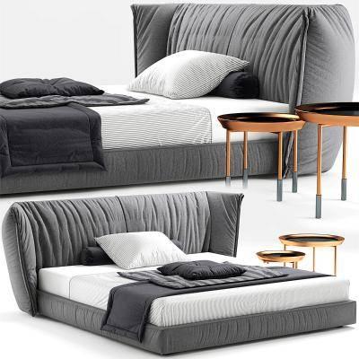 现代床具 床 双人床 床头柜 后现代床具,卧室 现代卧室 后现代卧室 欧式卧室