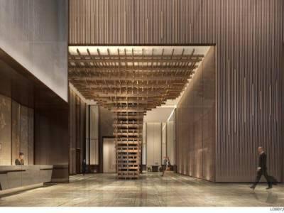 【CCD】成都首座万豪酒店丨概念方案+效果图+客房全套CAD施工图+实景施工图下载