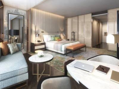 【HBA】南京瑞吉酒店|设计方案+效果图+彩屏|PDF+JPG|65P施工图下载