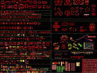 雅布最全CAD图库施工图下载