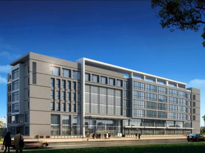 【现代简约】北京某医院康复楼丨效果图+平面方案+施工图CAD丨118M施工图下载