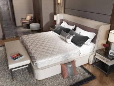 轻奢卧室3d模型下载【ID:425515364】