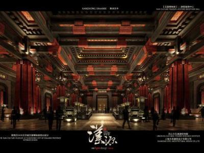 汉中汉文化博览园(汉宫+汉乐府+城市展览馆)施工图下载