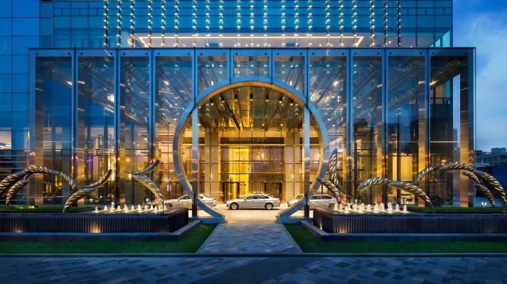 【HBA】沈阳君悦酒店全套|施工图纸公区 客房CAD 高清摄影施工图下载【ID:632117682】
